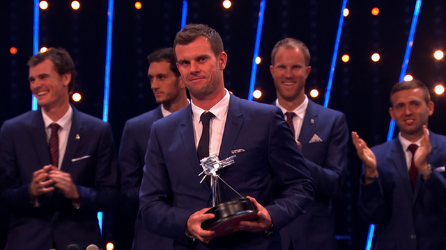 Great Britain's Davis Cup squad win Team of the Year