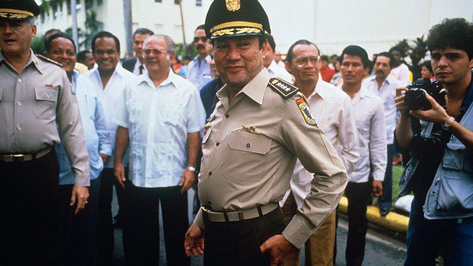 Manuel Antonio Noriega, 1987