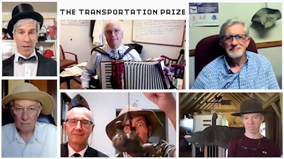 Entrega virtual de premios Ig Nobel