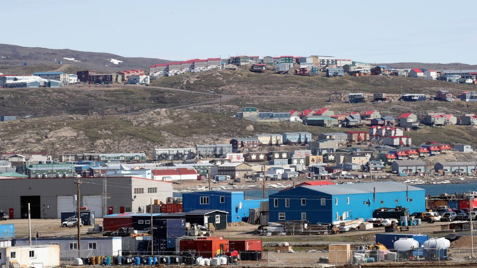 A general view of Sylvia Grinnel Territorial Park on 29 June 2017 in Iqaluit, Canada.