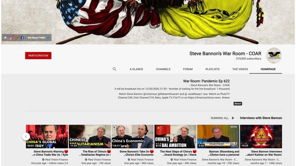 Steve Bannon podcast