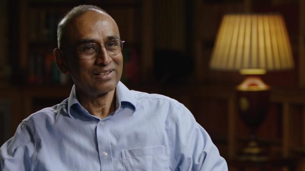 El biólogo molecular y Premio Nobel Venki Ramakrishnan