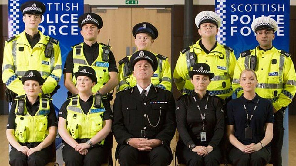 Scots Squad cast