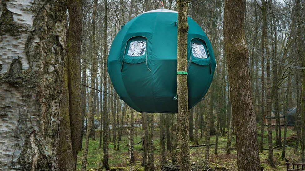 Windermere tree tents take glamping to new heights