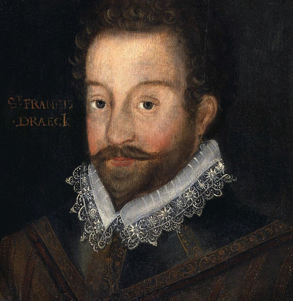 Pintura de Francis Drake.
