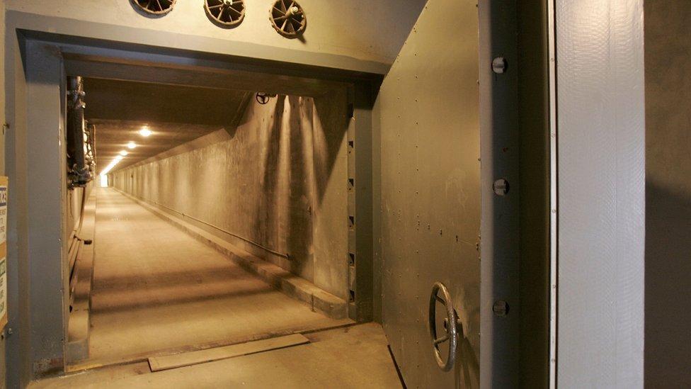 Greenbriar tunnel
