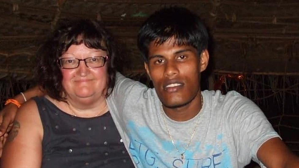 'My young Sri Lankan husband left me with nothing'