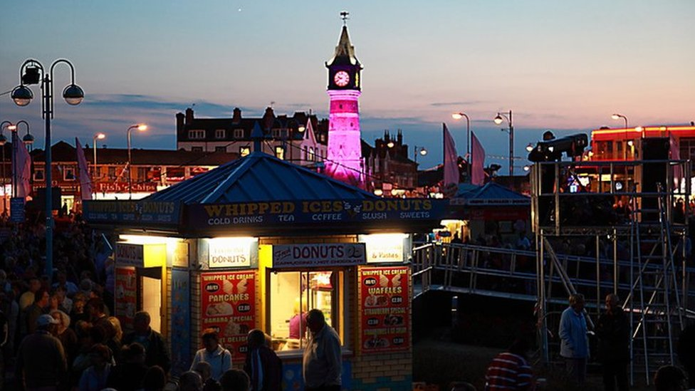 A view of Skegness