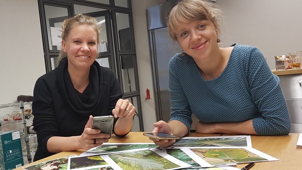 Peat chief executive Simone Strey and co-founder Charlotte Schumann
