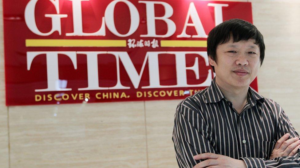 Hu Xijin, editor del periódico Global Times