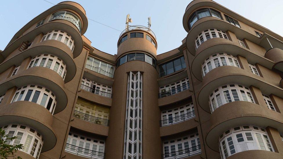 Los edificios Art déco de Bombay también se ubicaron en la lista.