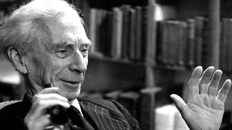 Bertrand Russel.