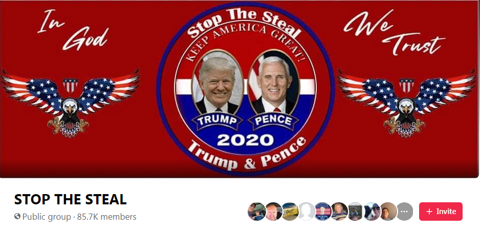 Stop the Steal Facebook group