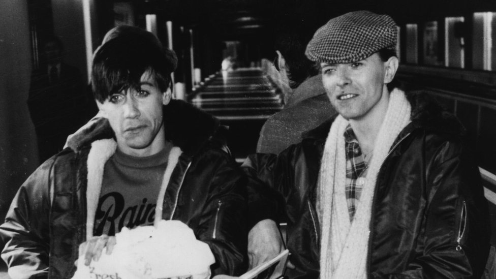 Iggy Pop and David Bowie in Germany, 1977