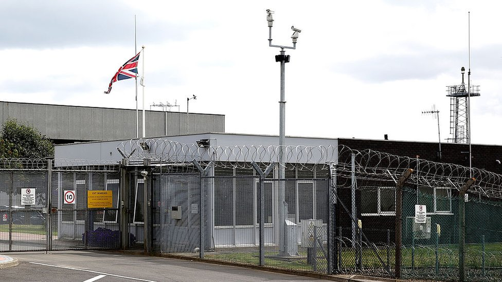 La base GCHQ en Scarborough