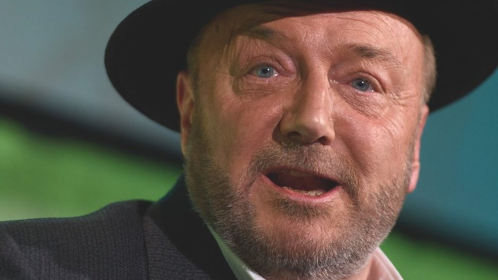 Galloway's war of words with a mystery Wikipedia editor