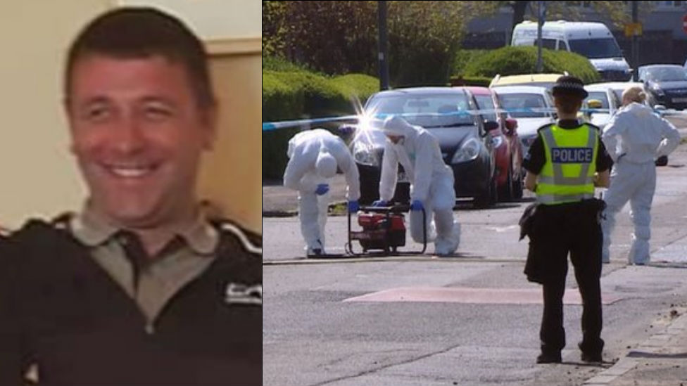 Murdered man Anthony Ferns died in front of mother