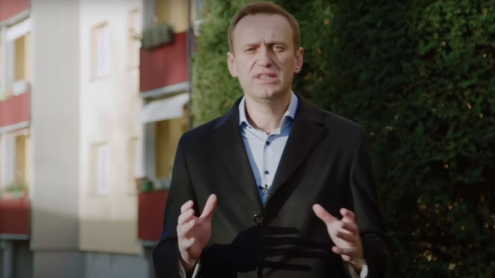 Navalny publicó su trabajo de investigación dos días después de que fuera arrestado al aterrizar en el aeropuerto Sheremetyevo de Moscú.