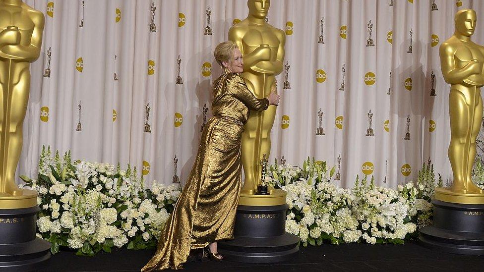 توجت الممثلة ميريل ستريب بجائزة الأوسكار ثلاث مرات