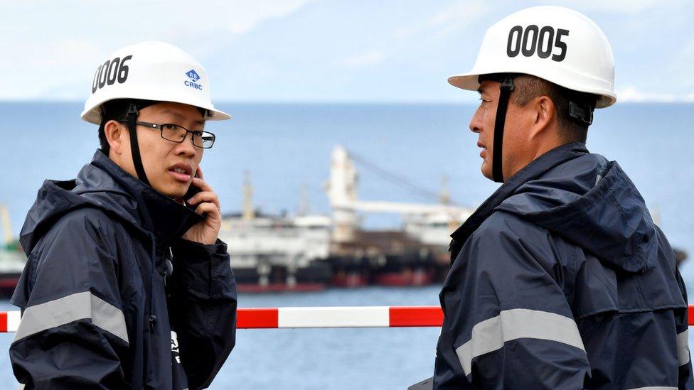 Trabajadores chinos en Croacia