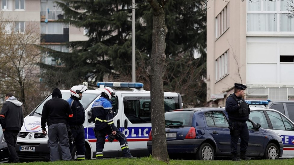 Police searched Belgacem's home in Garges-les-Gonesse
