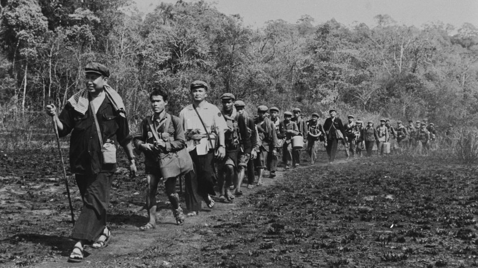 Pot Pot And Cambodian Army In Cambodia In May, 1979
