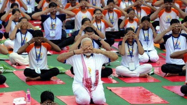 印度總理莫迪也是瑜伽愛好者