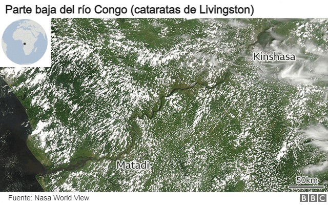 cabecera del río Congo