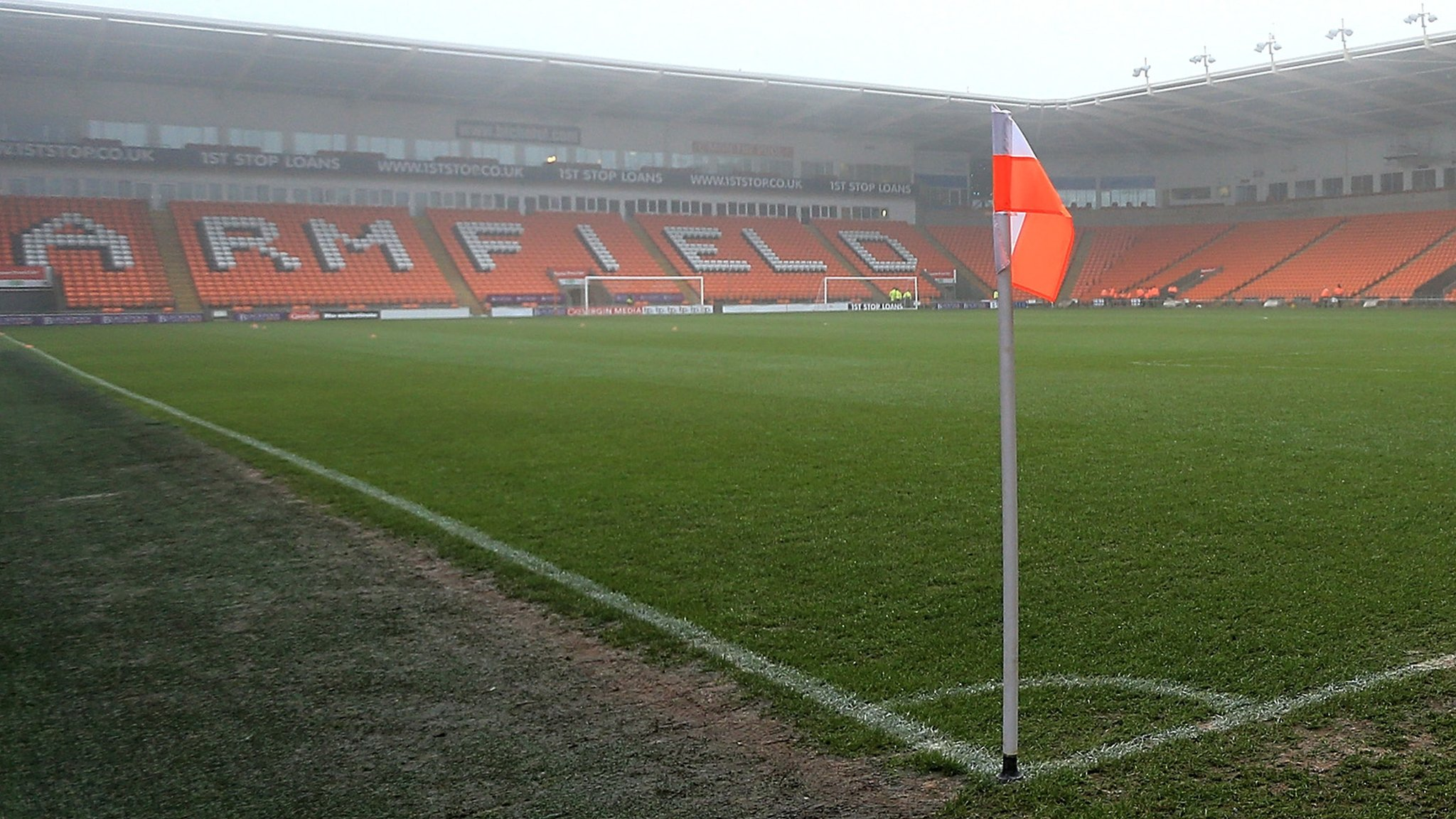 Blackpool: English Football League 'to work with' club's receivers