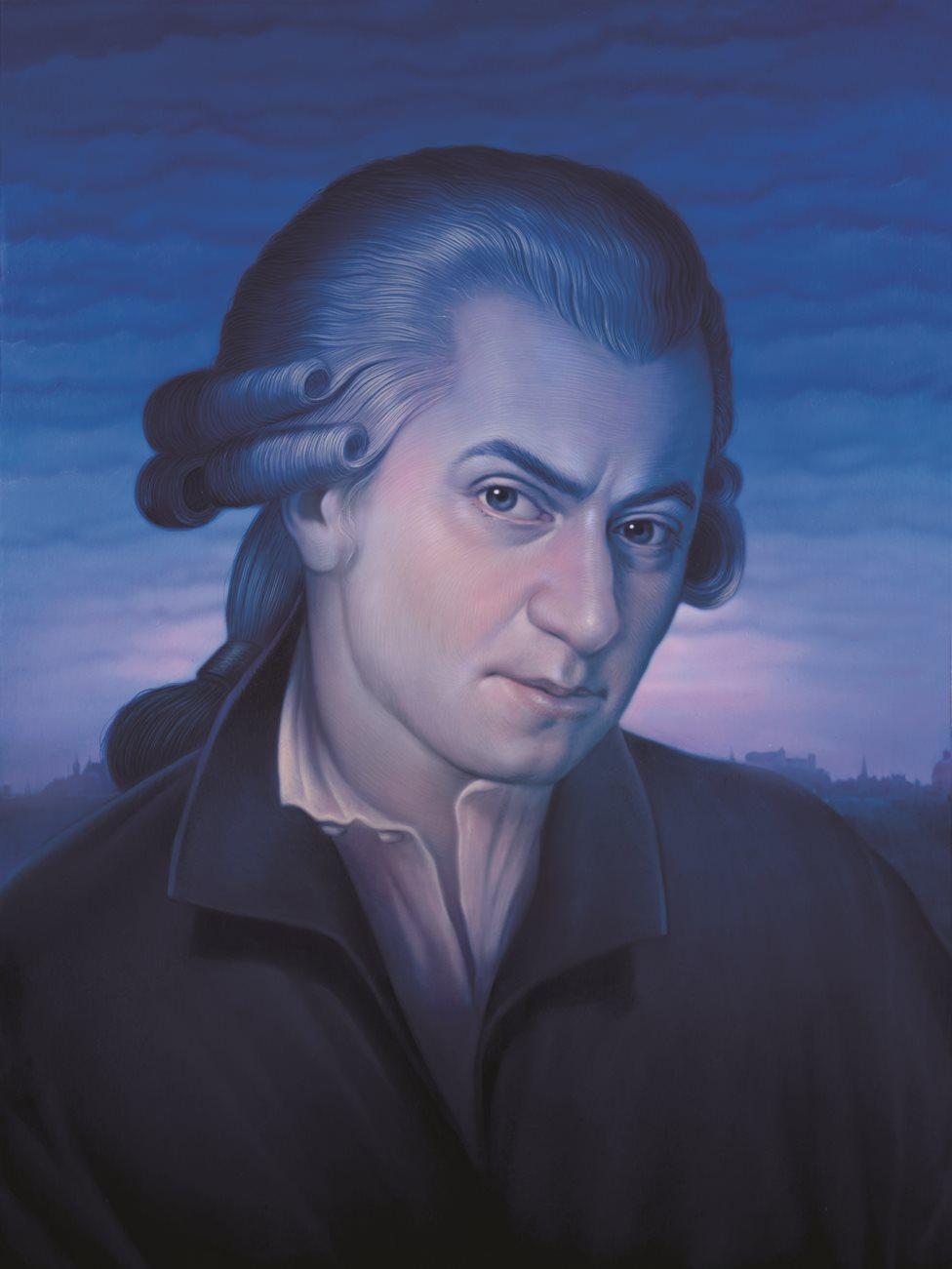 Mozart by Tim O'Brien