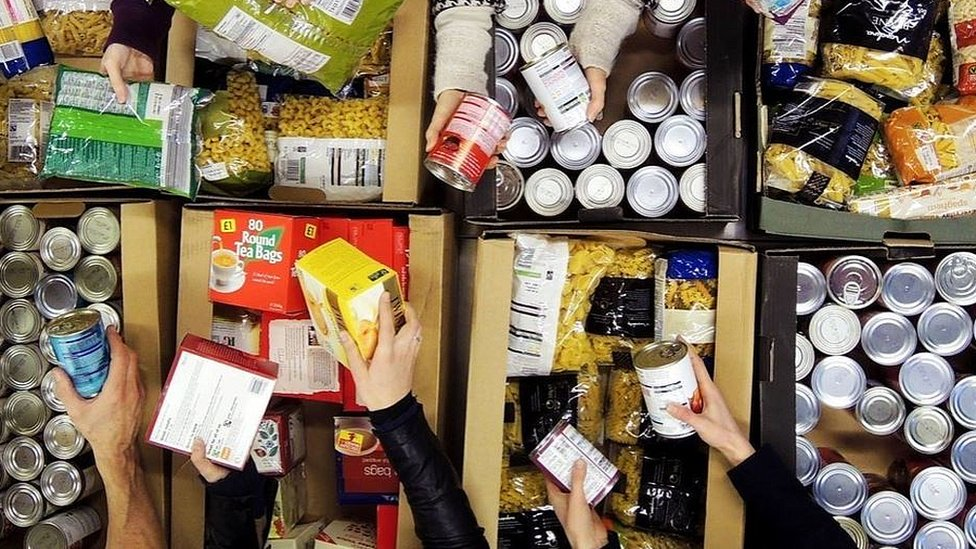West End foodbank donations