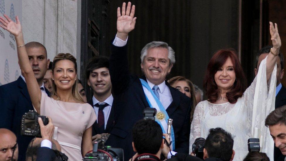 Alberto Fernández asume el poder