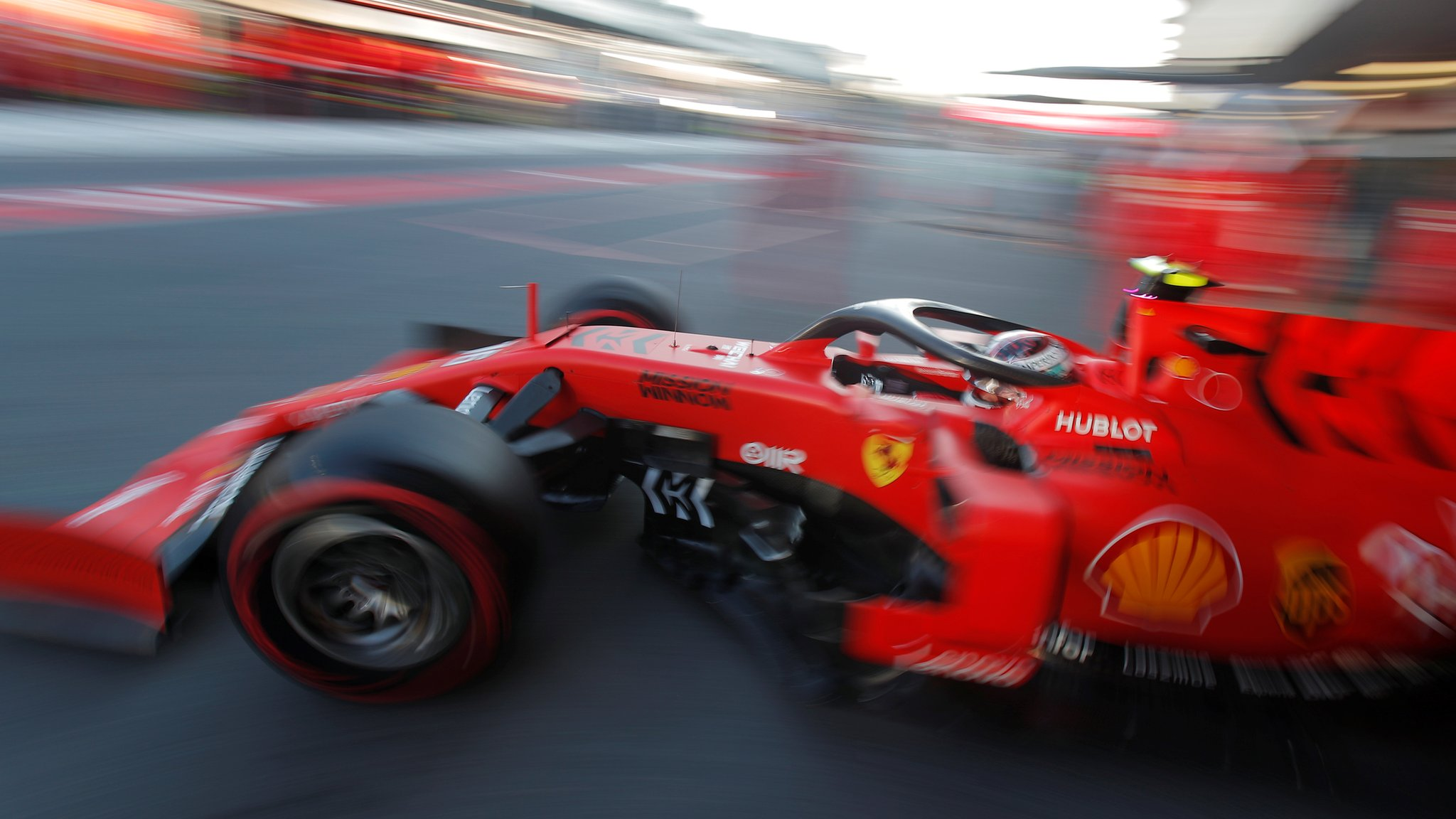 Leclerc fastest in Azerbaijan GP practice after incident-filled day