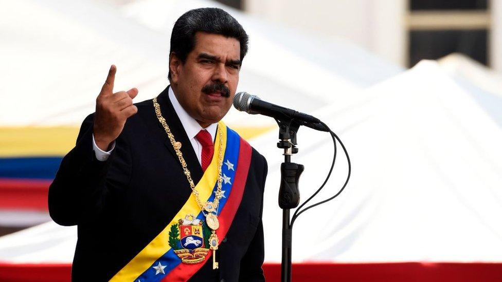 NO USAR / CONTENIDO BBC. Nicolás Maduro