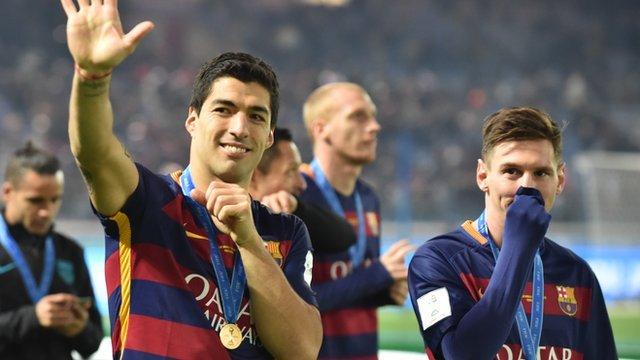 Messi & Suarez score as Barca win Club World Cup