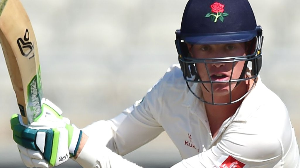 County Championship: Lancashire survival hopes fading at Hampshire
