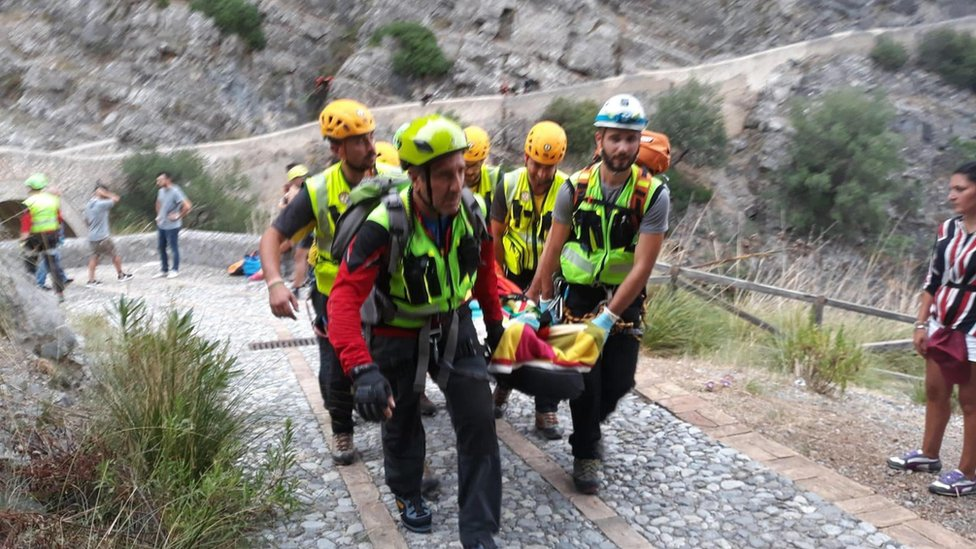 Ten hikers killed in flash flooding in southern Italy