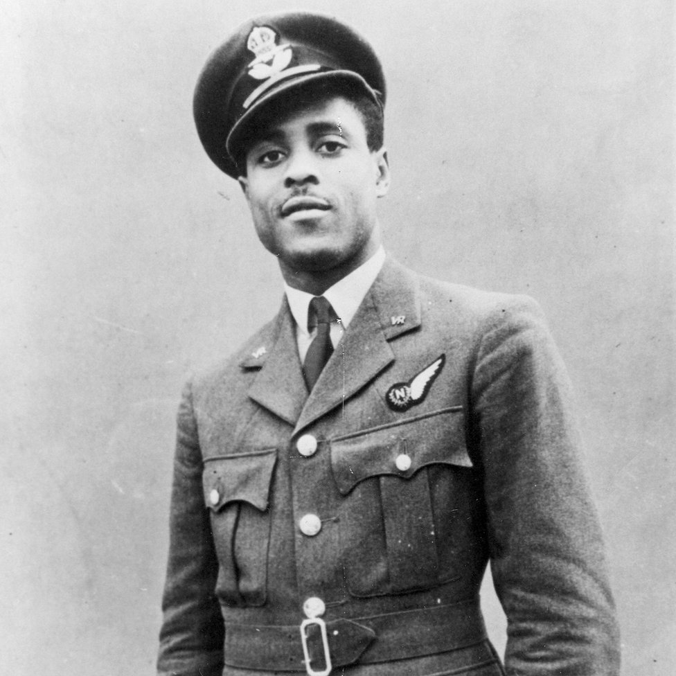 The airman from Sierra Leone who was shot down over Nazi Germany thumbnail