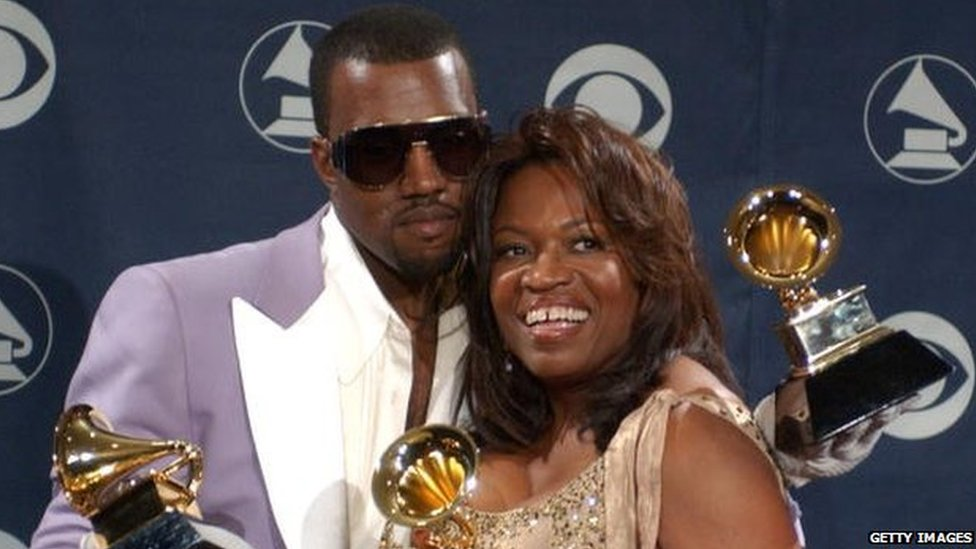 Kanye West and Donda West