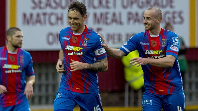 Highlights: Motherwell 1-3 Inverness CT