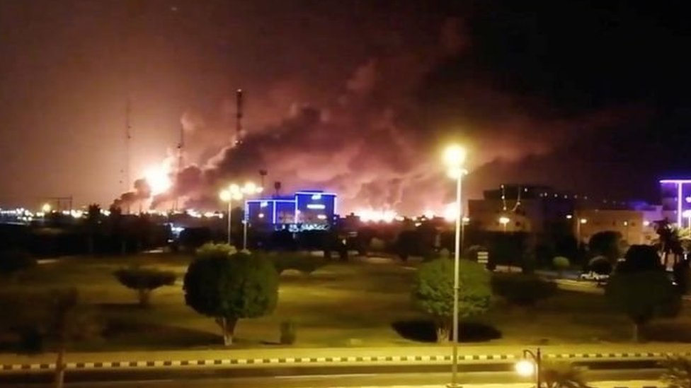"""الهجوم على أرامكو: واشنطن """"حددت مواقع في إيران أطلقت منها طائرات مسيرة وصواريخ"""""""