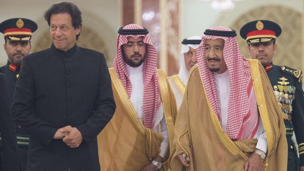 सऊदी पर किसी को हमला नहीं करने देंगे: इमरान ख़ान
