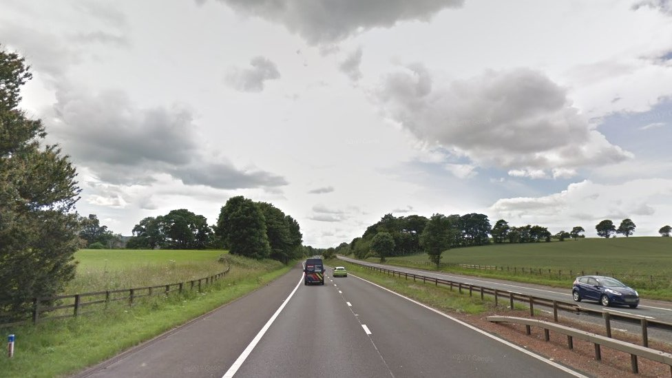 Driver aged 71 dies after crashing into tree in West Lothian