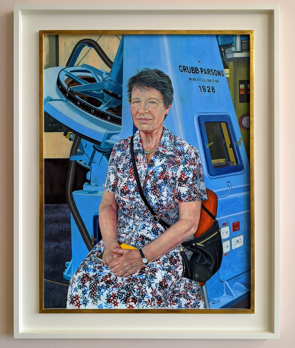 The portrait will be displayed at the Royal Society's London headquarters