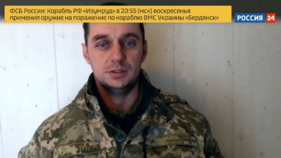 Volodymyr Lisovyi on Russian TV