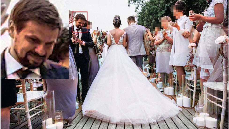 Опубликовано фото Анатолия Чепиги на свадьбе дочери генерала ГРУ