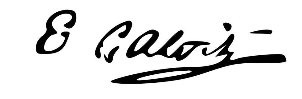 firma de Evariste Galois