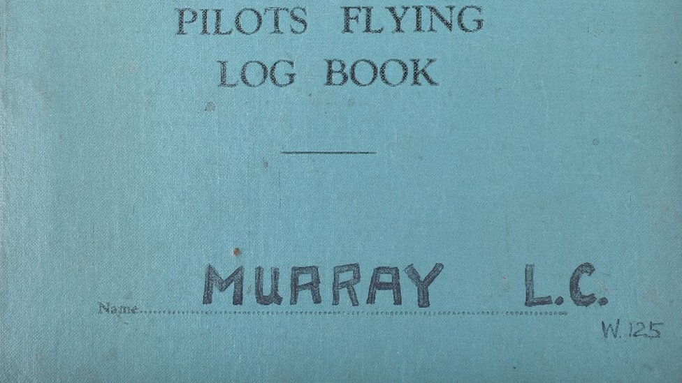'Rare' Air Transport Auxiliary pilot's logbook sold