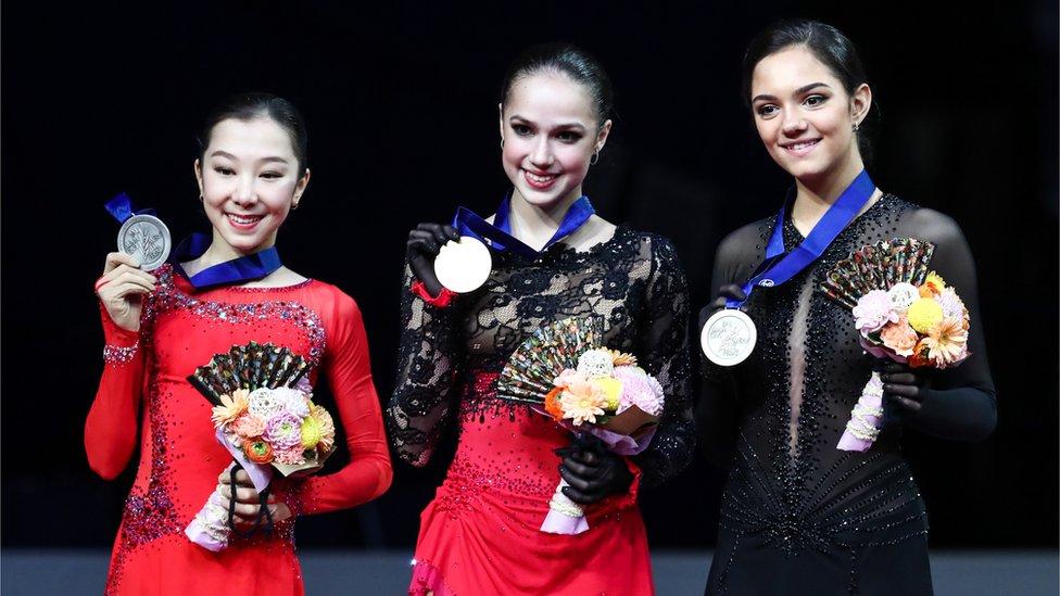 Загитова стала чемпионкой мира по фигурному катанию. Медведева третья