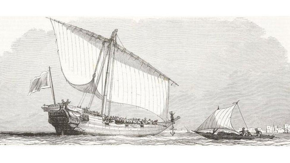 سفينة كلوتيلدا استخدمت في نقل اللعبيد